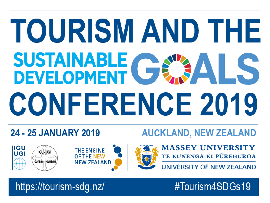 IGU Tourism Commission endorses Tourism and the SDGs Conference 2019