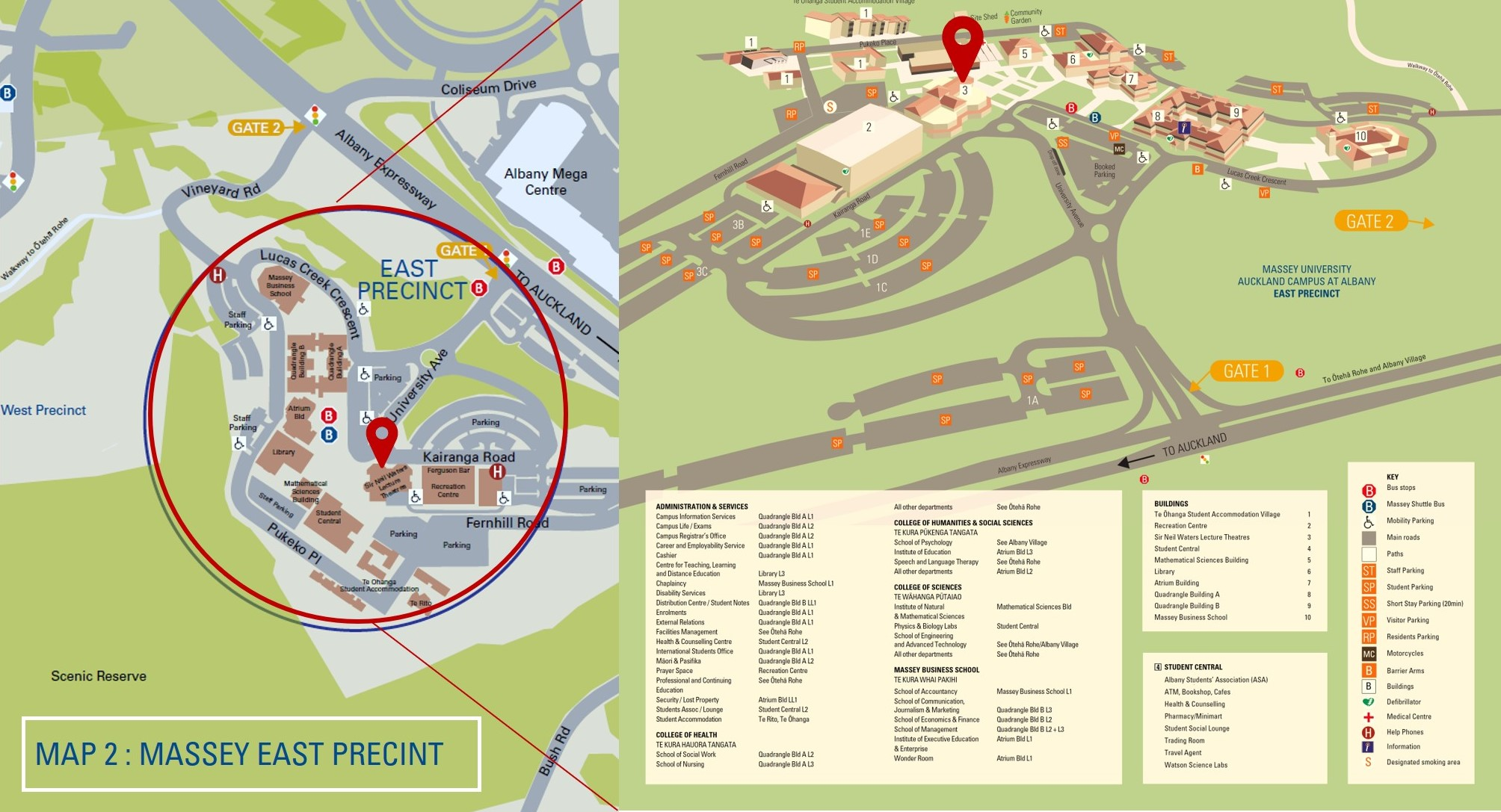 massey albany campus map Maps Venue Vicinity Tourism And The Sdgs massey albany campus map